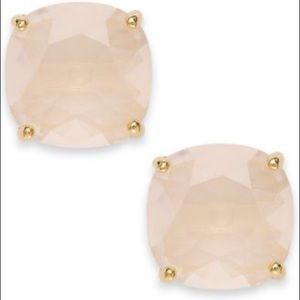 Kate spade blush/rose stud earrings.